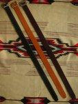 """画像4: RAWHIDE PLAIN BELT/UK BRIDLE SADDLE By J & FJ Baker & Co,LOT-001/ 1-3/4""""[44MM]"""