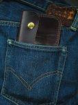 画像5: RAWHIDE TRUCKERS WALLET LOT-501/D,BROWN/UK BRIDLE By J & FJ Baker & Co, (5)