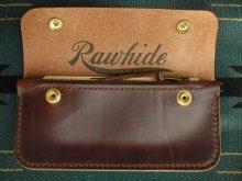 他の写真1: RAWHIDE TRUCKERS WALLET LOT-501/D,BROWN/UK BRIDLE By J & FJ Baker & Co,