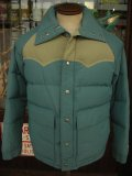 〜1980'S CAMEL DOWN 2TONE GOOSE DOWN JACKET