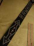 "画像4: RAWHIDE STUDDED & JEWELED BELT LOT-134/ 1-3/4""[44MM]  (4)"