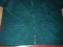 他の写真3: 1950'S〜 BROOKSHIRE ZIP UP WORK CARDIGAN/MEDIUM