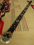 "画像3: RAWHIDE STUDDED & JEWELED BELT LOT-236/ 1-1/2""[38MM]"