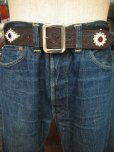 "画像6: RAWHIDE STUDDED & JEWELED BELT LOT-118/ 1-3/4""[44MM]"