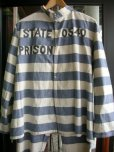 画像1: 1930'S UNKNOWN PRISONER UNIFORM COSTUME JACKET & PANTS (1)