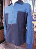 〜1940'S BRADLEY 2TONE WOOL ZIP UP SKI JACKET