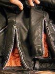 画像13: 1950'S BRATT HORSEHIDE TWO STARS MOTORCYCLE JACKET SZ/36