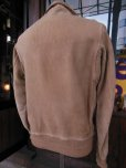 画像4: ★PRICE DOWN!★1930'S SPORTOGS GROMET ZIPPER NUBUCK A-1 STYLE JACKET  (4)