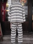 画像9: 1930'S UNKNOWN PRISONER UNIFORM COSTUME JACKET & PANTS