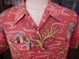 画像16: 1940'S TOP FLIGHT UNDER SEA PRINTED RAYON HAWAIIAN SHIRT SZ/M