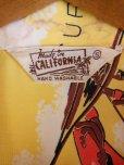 画像6: 1950'S mADE IN CALIFORNIA NATIVE PRINTED RAYON HAWAIIAN SHIRT/SZ/S