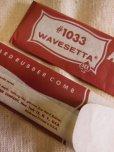 """画像6: 1950'S DEADSTOCK ACE 7"""" COMB #1033 WAVESETTA  MADE IN U.S.A."""