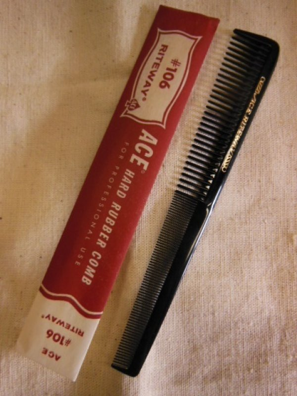 "画像1: 1950'S〜 DEADSTOCK ACE 7-1/2"" COMB #106 RITEWAY  MADE IN U.S.A.(1)"