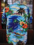画像3: 1950'S PALI HAWAIIAN RAYON HAWAIIAN SHIRT SZ/M (3)