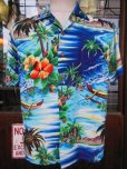 画像2: 1950'S PALI HAWAIIAN RAYON HAWAIIAN SHIRT SZ/M (2)
