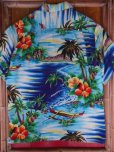画像15: 1950'S PALI HAWAIIAN RAYON HAWAIIAN SHIRT SZ/M