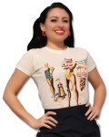 Atomic Swag Hollywood Beach Ladies Tee