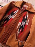 画像1: 1940'S BOYS CHIMAYO RUG JACKET  (1)