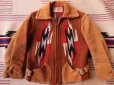 画像15: 1940'S BOYS CHIMAYO RUG JACKET  (15)