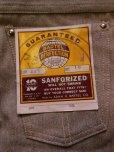 画像2: 1950'S DEADSTOCK BARTEL S&P COVERT PANTS SIZE/10  (2)