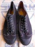 画像3: 1950'S NOS PRO KEZS BLACK BASEBALL SHOES/4-1/2