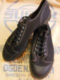 1950'S NOS PRO KEZS BLACK BASEBALL SHOES/4-1/2