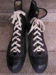 画像3: 1950'S CONVERSE BLACK FOOTBALL SHOES/12