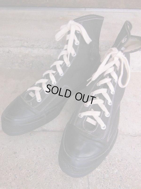 画像2: 1950'S CONVERSE BLACK FOOTBALL SHOES/12