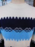 画像9: 〜1960'S BARCLAY BORDER ACRYLIC SWEATER SIZE/M