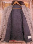 画像2: 1950'S UNKNOWN WOOL FARAOH CAR COAT/SZ/SMALL (2)