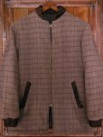 画像1: 1950'S UNKNOWN WOOL FARAOH CAR COAT/SZ/SMALL (1)