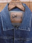 画像3: 1950'S J.C.PENNEY FOREMOST ONE POCKET 1ST TYPE DENIM JACKET