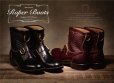 画像13: Attractions BILTBUCK Lot.300 Roper Boots Emboss/Black/ローパーブーツ/9D[27.0cm]