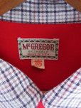 画像3: 1950'S McGREGOR TWO TONE RED RAYON SHIRT SZ/YOUTH20 (3)