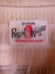 画像3: 1930'S〜 SUPER ROYAL KNIGHT BEIGE COTTON DRESS SHIRT SZ/MEDIUM (3)