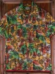 画像5: 1940'S YEE FOOK ASIAN ORIENTAL PATERN COTTON SHIRT SZ/M