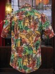 画像3: 1940'S YEE FOOK ASIAN ORIENTAL PATERN COTTON SHIRT SZ/M