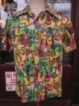 画像2: 1940'S YEE FOOK ASIAN ORIENTAL PATERN COTTON SHIRT SZ/M (2)