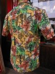 画像4: 1940'S YEE FOOK ASIAN ORIENTAL PATERN COTTON SHIRT SZ/M