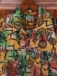画像7: 1940'S YEE FOOK ASIAN ORIENTAL PATERN COTTON SHIRT SZ/M