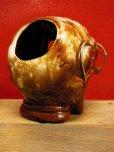 画像7: 1950'S〜 SKULL W/GLASSES ASHTRAY ヴィンテージ陶器製スカル骸骨灰皿1
