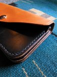画像5: RAWHIDE TRUCKERS WALLET LOT-504/CAMEL X BLACK/UK BRIDLE By J & FJ Baker & Co,