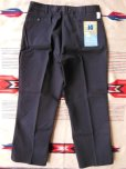 画像3: 1950'S〜 DEADSTOCK PENNEY'S BIG MAC BLK TWILL PANTS 40X30  (3)