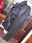 画像11: 1950'S GRAIS HORSEHIDE W MOTORCYCLE JACKET SZ/38-40