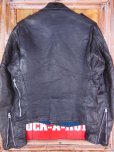 画像4: 1950'S GRAIS HORSEHIDE W MOTORCYCLE JACKET SZ/38-40 (4)