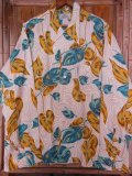 1950'S DEADSTOCK SKIPPER RAYON HAWAIIAN SHIRT L/S/SZ/ML