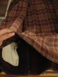 画像9: 1930'S MONARCH SHAWL COLLAR HORSEHIDE COAT/AJUST BELT ON SLEEVES