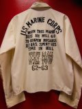 1960'S USMC EMBROIDERED JAPANESE SOUVENIR DRIZZLER JACKET SZ/M