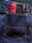 画像7: RAWHIDE STUDDED & JEWELED TRUCKERS WALLET LOT-501B/REDXBLACK