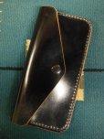 画像1: RAWHIDE TRUCKERS WALLET LOT-504/BLACK/HORSEHIDE CORDVAN (1)